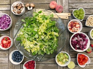 Une bonne salade pour un régime alimentaire sain